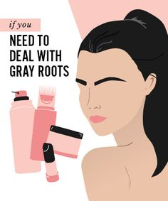 Hide gray roots while adding volume to hair! | Hair color ...