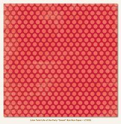 Papier 30x30cm - My Mind's Eye - Lime Twist - Sweet - Bon Bon - 1030 Na-Strychu