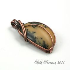 Wire Pendant Designs | New Pattern Wire Review | Tela Formosa Jewelry Designs