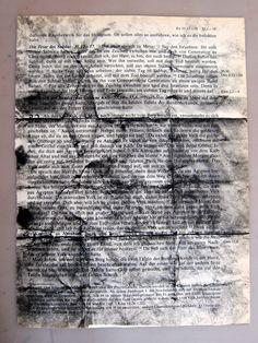 #Falten auf alten #Bibelseiten