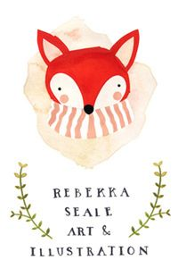 Since some people have asked—this is the amazing illustrator who hand paints all our blog headers! Rebekka is a joy to work with—and her blog is so inspirational. Gorgeous work.