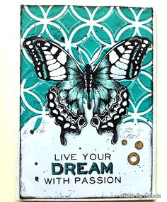 Butterfly Beauty card for the Simon Says Stamp Monday Challenge! Sandra is so…
