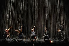 "SCENOGRAPHY FOR CONTEMORARY DANCE / ""ZONE - nomadic""  ZONE was a collaboration between the Japanese National Theatre and Noism in the spring of 2009. The concept of a 'ZONE of professions' was established by artistic director Jo Kanamori and was presented in three pieces called 'academic / nomadic / physic'."