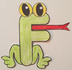 Letter F Craft Frog Kids Learning Activities Preschool - Letter Of The Week Craft Activity Letter F Is For Frog Simple And Easy Letter Craft For Children In Preschool Or Kindergarten Letter F Craft Frog This Looks Like A Great Way To Help The Letter F Craft, Alphabet Letter Crafts, Abc Crafts, Preschool Crafts, Letter N Activities, Preschool Letters, Kids Learning Activities, Preschool Activities, Kindergarten Themes