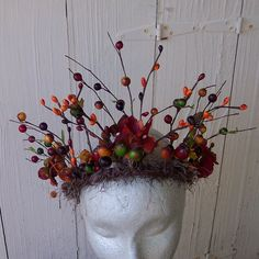 Mother Nature Fairy Queen Crown by FriendlyFairies on Etsy. , via Etsy.