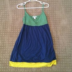 Lucky Brand Long Tank top This adorable tank top is perfect for a summer day with a pair of jeans or white jeans! Lucky Brand Tops Tank Tops