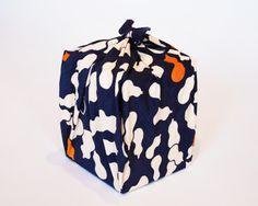 Gourd Navy-Hyoutan- Cotton #Furoshiki #Creative #Wrap #Origami #Ideas #Textile #Wrapping #Wrap #Gift #Japan #Japanese #Traditional #Eco #Ecofriendly #Environment