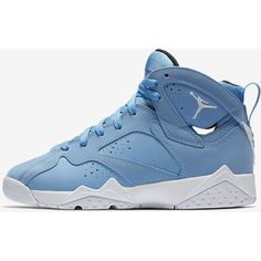 Air Jordan 7 Retro (3.5y-7y) Big Kids' Shoe. Nike.com ($95) ❤ liked on Polyvore featuring shoes and jordan