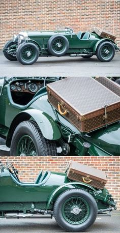 This Bentley is for sale and the Louis Vuitton luggage comes with it!
