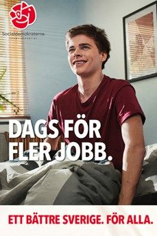 Time for More Jobs, Swedish Social Democrat Party, Election 2014