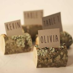 Name Place Cards, Place Names, Name Cards, Wedding Name, Wedding Place Cards, Wedding Stuff, Wedding Ideas, Gold Table Number Holders, Rustic Place Card Holders