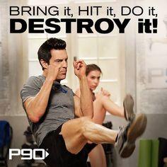 Beachbody P90 Workout Motivation www.facebook.com/HealthyFitandWise