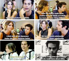 teen wolf - dylan o´brien and shelley hennig