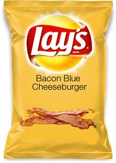 Bacon Blue Cheeseburger #Chips #Dips #Salsa #Potato #Kettle #Corn #Rice