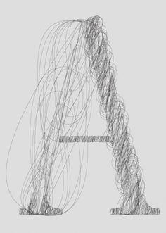 police vectorielle de cheveux