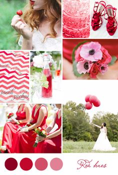 Inspiration board: Red hues