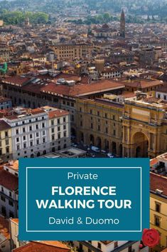 LivItaly's Private Florence Walking Tour with the David is for travelers who want to experience the beautiful Medieval city of Florence with an expert guide who will take you on a memorable stroll full of art and history! The highlight of this tour may be Michelangelo's David, but it is only one of the many attractions you will see in this mecca of Renaissance art.  #iliveitaly