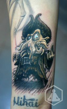 Lil' Davy Jones by ZenBenZen on DeviantArt