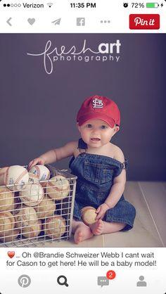 Baseballs and overalls