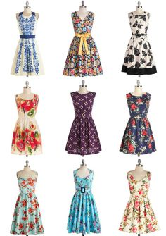 April Showers Bring May Flower (Dresses) ... #modcltoh #ad *So pretty.