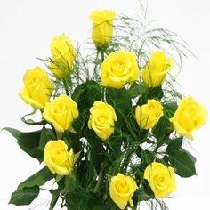 Falcon Farms Yellow Roses Bouquet    Price: $32.95