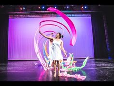 Pan-Asian Dance Troupe: Alice and Yichen's Ribbon Kinds Of Dance, Just Dance, Ribbon Dance, Fun Games For Kids, Professional Dancers, Dance Lessons, Dance Choreography, Color Guard, Belly Dance