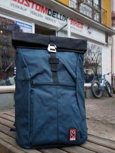 Chrome Yalta 2.0 Nylon | Rolltop Backpack | indigo