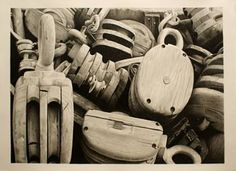Original Still Life Drawing by Dietrich Moravec Still Life Drawing, Still Life Art, Pencil Art, Pencil Drawings, Love Drawings, Art Drawings, Graphite, Pulleys And Gears, Pencil Drawing Tutorials