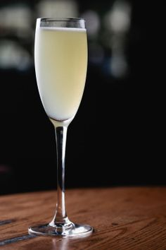 THE PARASOL Ingredients  ½ oz. Lillet Blanc ½ oz. St. Germain elderflower liqueur ½ oz. honey syrup (equal parts honey and water combined) ¾ oz. lemon juice 3 oz. champagne Preparation  Add all ingredients except champagne in a shaker filled with ice and shake for 10 seconds. Strain into a champagne flute. Top with champagne.