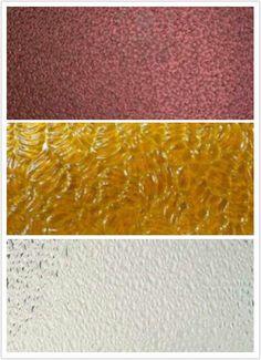 Texturas de vidrio