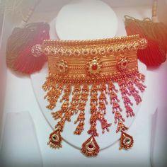 Priyanka  Sisodiya   Royal  rajputi  gold  jewellery   Aad