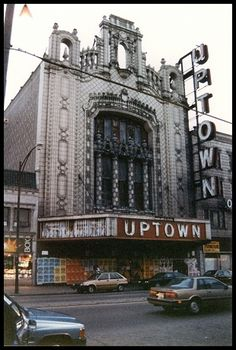 The abandoned Uptown Theater - 4816 North Broadway. Architects: Balaban & Katz. Built: 1925 and closed in 1981. Chicago, Illlinois.