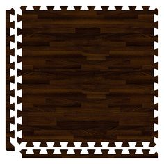 SoftWoods Floor Tile Set - Walnut (10' x 16' Set), Brown, Size 10' x 16'