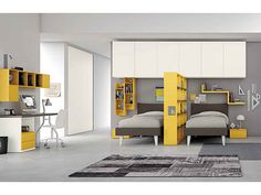 Ultra modern bedroom design you need to have. Feed your design ideas with over thirty five modern bedroom ideas for your perfect bedroom. Simple Bedroom Decor, Modern Bedroom Design, Bedroom Designs, Shared Rooms, Bedroom Styles, Kids Bedroom, Home Furniture, Interior Design, Home Decor
