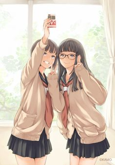 Safebooru is a anime and manga picture search engine, images are being updated hourly. Anime In, Chica Anime Manga, Art Anime, Anime Artwork, Anime Art Girl, Anime Girls, Anime Best Friends, Friend Anime, Manga Kawaii