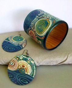 (1) Gallery.ru / Фото #4 - Комплект браслет и серьги! - Armeniaonsilk