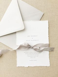 Amy Wedding Invitation August and White | Simple Wedding Invitations | Modern Wedding Invitations | Minimalist Wedding Invitations