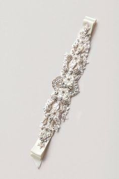 PAIGE Lux Rhinestone Sash- crystal sash, rhinestone sash, wedding sash, bridal belt on Etsy, $358.00