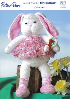 Bunny Rabbit Crochet Pattern P975