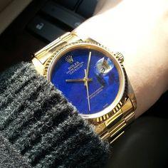 """""""1983年製16018ラピスダイヤル #ロレックス #デイトジャスト #rolex #datejust #rolexdatejust #vintagedatejust #vintagerolex #vintagewatch #lapislazuli #rolexpassion…"""" Vintage Rolex, Rolex Datejust, Time Art, Wrist Watches, Gold Watch, Jewels, Game, Instagram Posts, Accessories"""