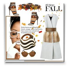 """""""All Things Fall"""" by emcf3548 ❤ liked on Polyvore featuring Brian Atwood, Zanzan, Rocio and Harvest"""