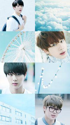 Jin Blue Aesthetic ♡