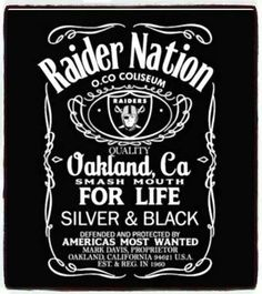 Oct 2017 - All about the Raiders, As and Golden State Warriors! See more ideas about Raiders, Golden state warriors and Golden state. Oakland Raiders Logo, Okland Raiders, Oakland Raiders Images, Raiders Stuff, Raiders Girl, Raider Nation, Oakland Raiders Wallpapers, Raiders Tattoos, America's Most Wanted