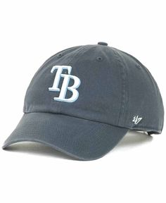 37098dd22e4  47 Brand Tampa Bay Rays Clean Up Hat Hat Men