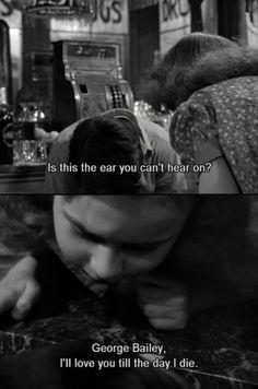 La vie est belle - It's a wonderful Life, de Frank Capra, 1946.