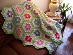 Ravelry: Spring Afghan pattern by Andrea Escorcio