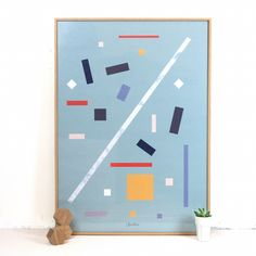 Squares Print