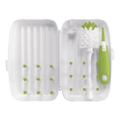 OXO Tot On-The-Go Drying Rack and Bottle Brush, Green by OXO Tot, http://www.amazon.com/dp/B00AA7O4CS/ref=cm_sw_r_pi_dp_NXC7rb0X4BF8K