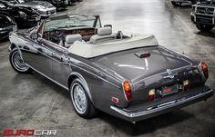 Rolls Royce Corniche Convertible.  v@e.