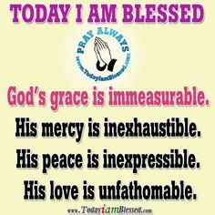 God's grace is immeasurable  http://www.fivefoldministryireland.com